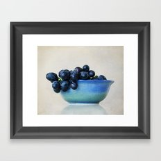 Grapes Framed Art Print