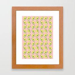 Avocado Love Framed Art Print
