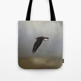 Into The Wild Blue Tote Bag