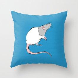 Rattie Throw Pillow