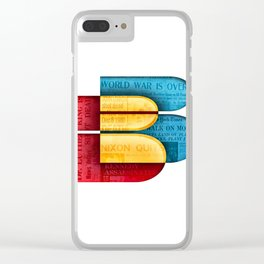To B or not to B Clear iPhone Case