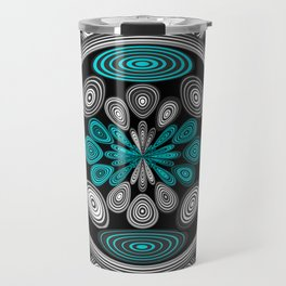 Geometric arabesque Travel Mug