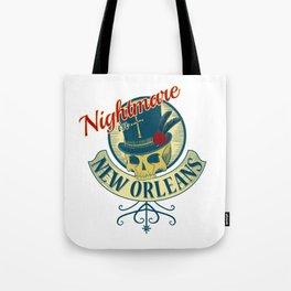 Nightmare in New Orleans Tote Bag