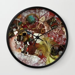 whatnot Wall Clock