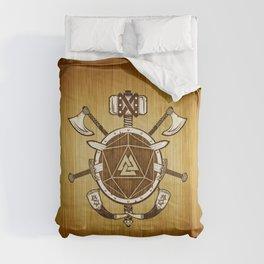 d20 Viking Warrior Comforters