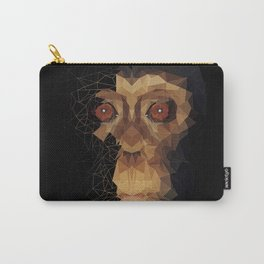 polygon Monkey_Half Face Carry-All Pouch