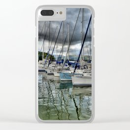 Yachts on Lake Windermere Clear iPhone Case