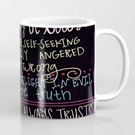 Love is Kind (multicolored) Coffee Mug