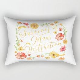 Maas Destruction Rectangular Pillow