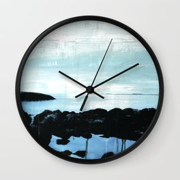The ocean and me Wall Clock