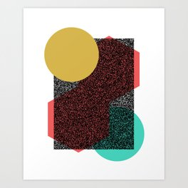 Composition Art Print