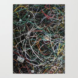 Wires.  Poster