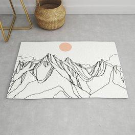 Mount Jumbo :: Single Line Rug