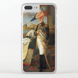 The Tyrant Tupuxuara Clear iPhone Case