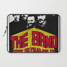 1969 The Band at Winterland Ballroom Concert Poster Laptop Sleeve