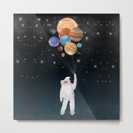 balloon universe Metal Print