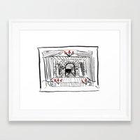 hamlet Framed Art Prints featuring Hamlet by Foxfocus