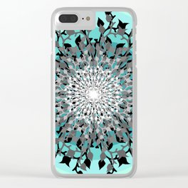 Iris Branches Clear iPhone Case