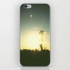 Smoke stacks iPhone & iPod Skin