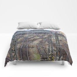 Prague Train Station Comforters