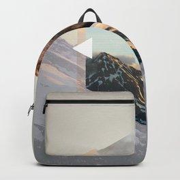 Geometria Espelhada Urso Backpack