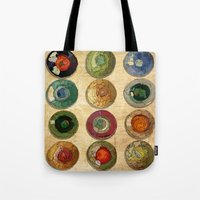 atlas Tote Bags featuring ATLAS by d.ts