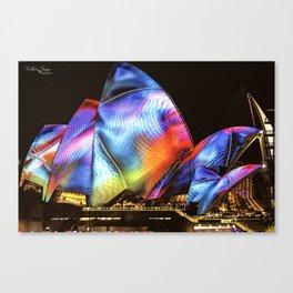 Vivid Festival Sydney (1) Canvas Print