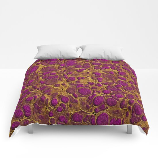 Golden Marble 03 Comforters