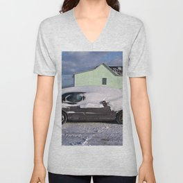 Winter on the East Coast Unisex V-Neck