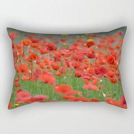 Poppy field 1820 Rectangular Pillow