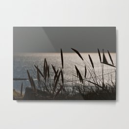 Gray Skies Metal Print