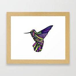 Hum-Humming Along Framed Art Print