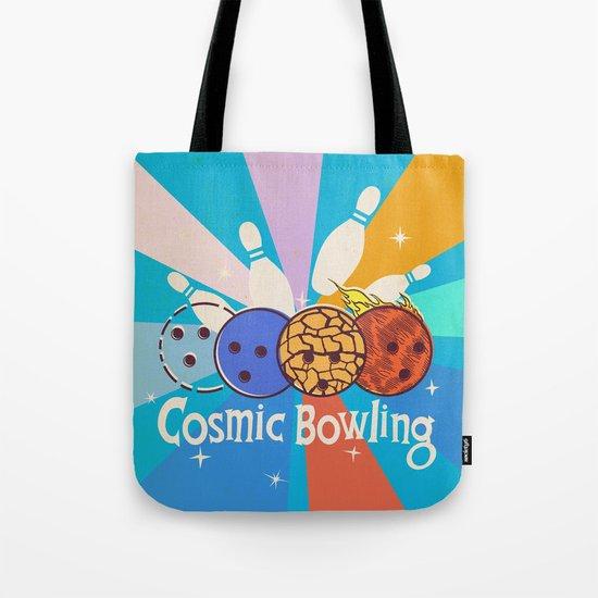 Cosmic Bowling Tote Bag