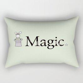 Magic Bunny Rectangular Pillow
