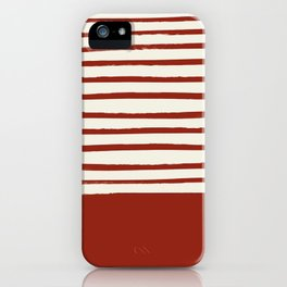 Holiday x Red Stripes iPhone Case