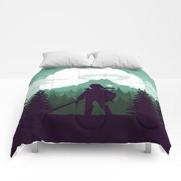 The Legend of Zelda - Green Version Comforters