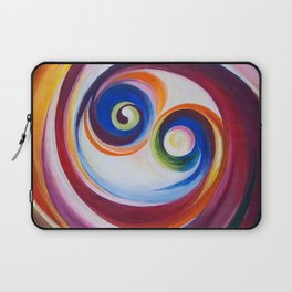 Multicolored spirals Laptop Sleeve