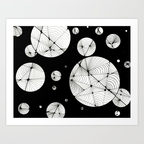Cosmic Illusion Art Print