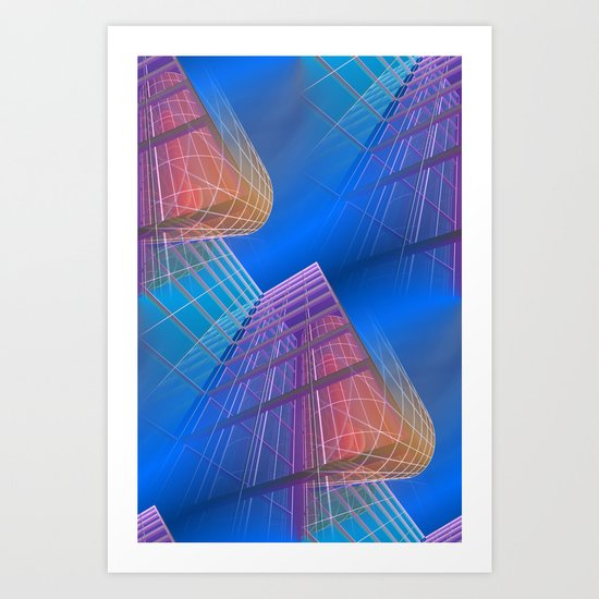 citylines -6- Art Print