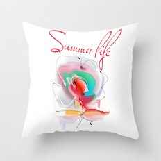 summer3 Throw Pillow