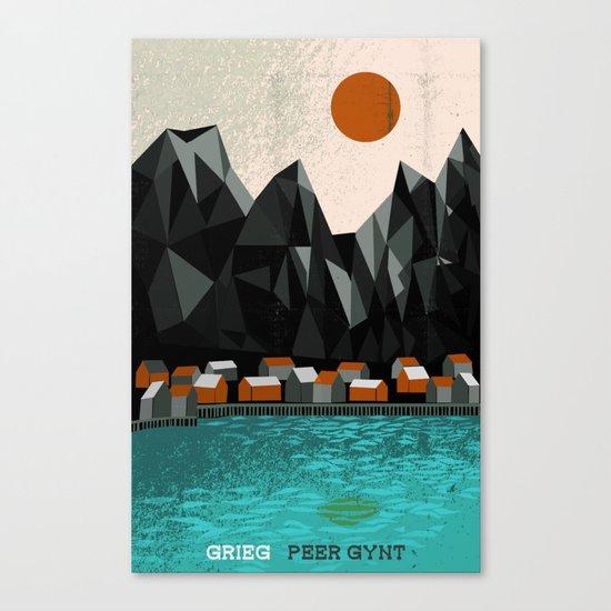 Peer Gynt - Grieg Canvas Print