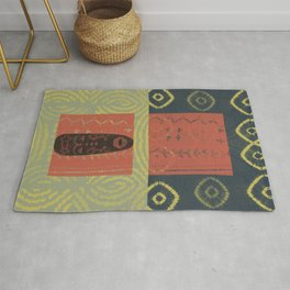 Ethnic 1 - African Style Pattern Rug