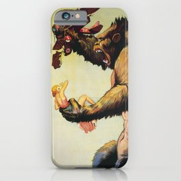 King Kong 1933 iPhone Case