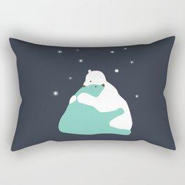 Bear hug Rectangular Pillow