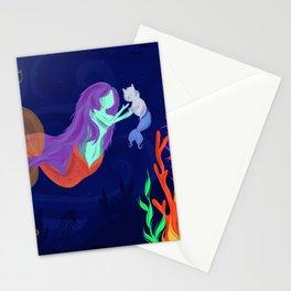 Underwater Friends Stationery Cards