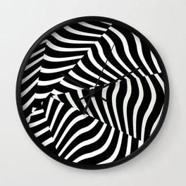 Optical Vortex Wall Clock