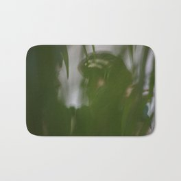 Dancing people, dance, shadows, hands and plants, blurred photography, artistic, forest, yoga Bath Mat
