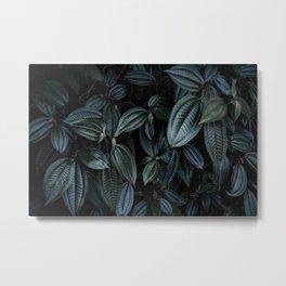 green leaves #society6 #decor #buyart Metal Print