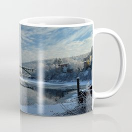 River View - Finally Looks Like Winter Coffee Mug