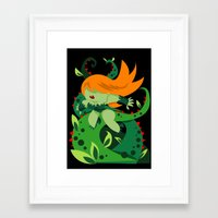 poison ivy Framed Art Prints featuring Poison Ivy by Shane Jones